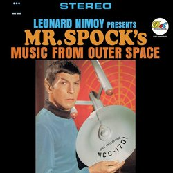 Mr. Spock's Music From Outer Space サウンドトラック (Various Artists) - CDカバー