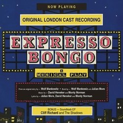 Expresso Bongo Soundtrack (David Heneker, David Heneker, Julian More, Monty Norman, Monty Norman) - CD cover