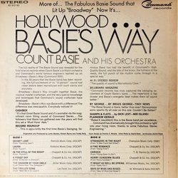 Hollywood...Basie's Way Soundtrack (Various Composers) - CD Achterzijde