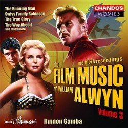 The Film Music of William Alwyn Volume 3 Soundtrack (William Alwyn) - CD cover