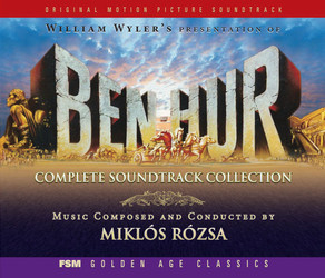 Ben-Hur Soundtrack (Mikl�s R�zsa) - cd-car�tula