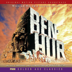 Ben-Hur Soundtrack (Mikl�s R�zsa) - Car�tula