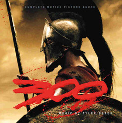300 Soundtrack (Tyler Bates) - CD cover