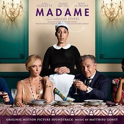 Madame Soundtrack (Matthieu Gonet) - CD cover