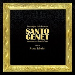 Santo Genet Soundtrack (Andrea Salvadori) - CD cover