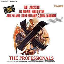 The Professionals Soundtrack (Maurice Jarre) - CD cover