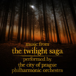 Music from the Twilight Saga Soundtrack (Carter Burwell, Alexandre Desplat, Howard Shore) - CD cover