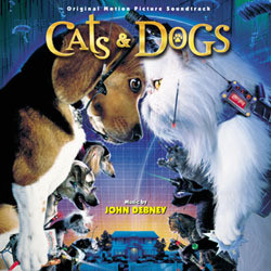Cats & Dogs Soundtrack (John Debney) - CD cover