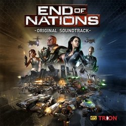 End of Nations Soundtrack (Frank Klepacki) - CD cover
