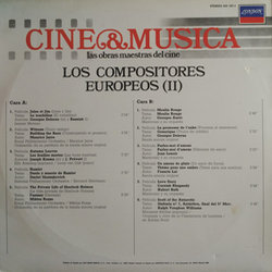 Los Compositores Europeos II Soundtrack (Various Artists) - CD Achterzijde
