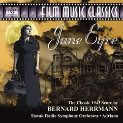 Jane Eyre Soundtrack (Bernard Herrmann) - CD cover