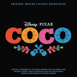 Coco Soundtrack (Michael Giacchino) - CD cover