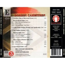 The Film Music of Doreen Carwithen Soundtrack (Doreen Carwithen) - CD Back cover