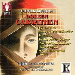The Film Music of Doreen Carwithen Soundtrack (Doreen Carwithen) - CD cover