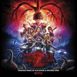 Stranger Things 2 Soundtrack (Kyle Dixon, Michael Stein) - Carátula
