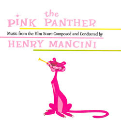The Pink Panther Soundtrack (Henry Mancini) - CD cover