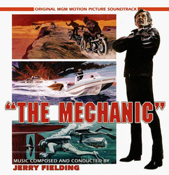 The Mechanic Soundtrack (Jerry Fielding) - CD cover
