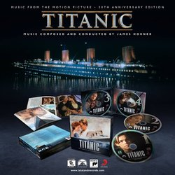 Titanic Soundtrack (James Horner) - cd-carátula