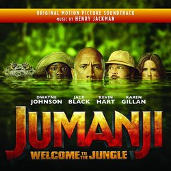 Jumanji: Welcome to the Jungle Soundtrack (Henry Jackman) - CD cover