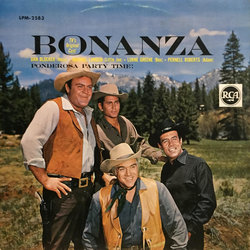 Bonanza Soundtrack (Various Composers) - CD cover