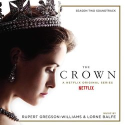 The Crown: Season Two Soundtrack (Lorne Balfe, Rupert Gregson-Williams) - CD cover