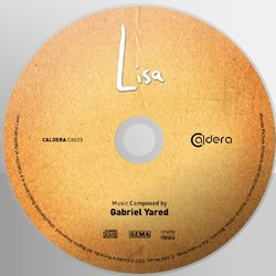 Lisa Soundtrack (Gabriel Yared) - cd-inlay