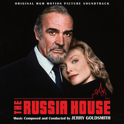 The Russia House Soundtrack (Jerry Goldsmith) - CD cover
