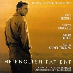 The English Patient Soundtrack (Gabriel Yared) - CD cover