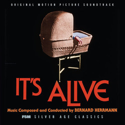 It's Alive Soundtrack (Bernard Herrmann) - CD cover