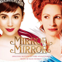 Mirror Mirror Soundtrack (Alan Menken) - CD cover