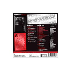 Miles Davis On Film Soundtrack (Various Artists, Miles Davis, Miles Davis) - CD Back cover