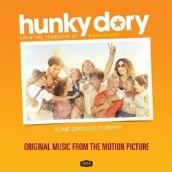 Hunky Dory Soundtrack (Various Artists) - CD cover
