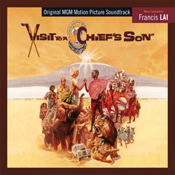Visit to a Chief's Son Soundtrack  (Francis Lai) - CD cover