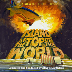 The Island at the Top of the World Soundtrack (Maurice Jarre) - CD cover