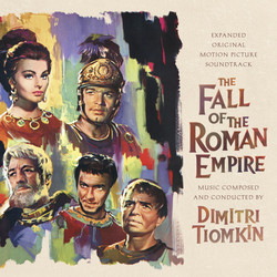 The Fall of the Roman Empire Soundtrack (Dimitri Tiomkin) - CD cover