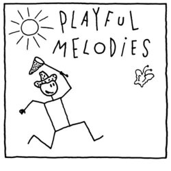 Playful Melodies Soundtrack (Gilles Tinayre) - CD cover