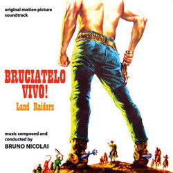 Bruciatelo Vivo Soundtrack  (Bruno Nicolai) - CD cover