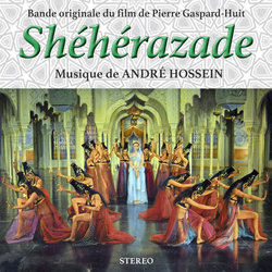 Shéhérazade Soundtrack (André Hossein) - CD cover