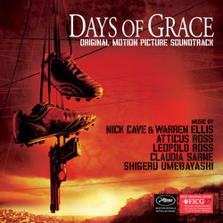 Days of Grace Soundtrack (Various Artists, Shigeru Umebayashi) - CD cover