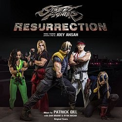 Street Fighter: Resurrection Soundtrack (Patrick Gill) - CD cover