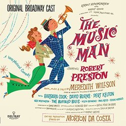 The Music Man 聲帶 (Meredith Willson, Meredith Willson) - CD封面