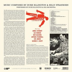Anatomy of a Murder Soundtrack (Duke Ellington, Billy Strayhorn) - CD Achterzijde