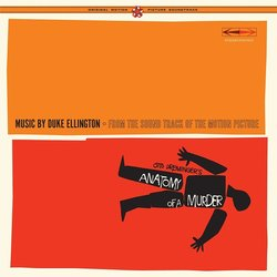 Anatomy of a Murder Soundtrack (Duke Ellington, Billy Strayhorn) - CD cover