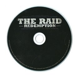 The Raid: Redemption Bande Originale (Mike Shinoda, Joseph Trapanese) - cd-inlay