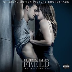 Fifty Shades Freed - The Final Chapter Soundtrack (Various Artists, Danny Elfman) - CD cover