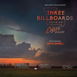 Three Billboards Outside Ebbing Missouri Soundtrack (Carter Burwell) - CD cover