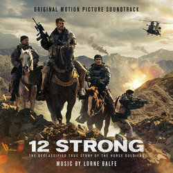 12 Strong Colonna sonora (Lorne Balfe) - Copertina del CD
