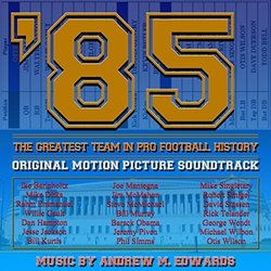85: The Greatest Team in Pro Football History Soundtrack (Andrew M. Edwards) - CD-Cover