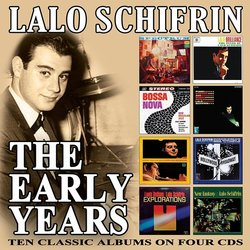 Lalo Schifrin - The Early Years Soundtrack (Lalo Schifrin) - CD cover
