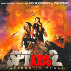Spy Kids 2: Espions en Herbe Soundtrack (John Debney, Robert Rodriguez) - CD cover